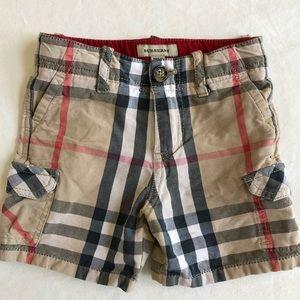 BURBERRY Cargo Shorts Nova Check 18m Boys